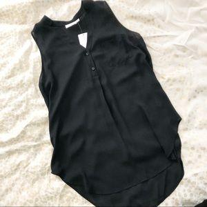 NWT long lush tank blouse